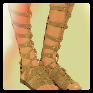 Free people gladiator sandals size 39